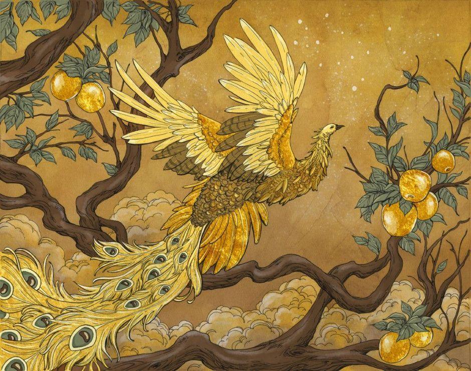 сказочные птицы