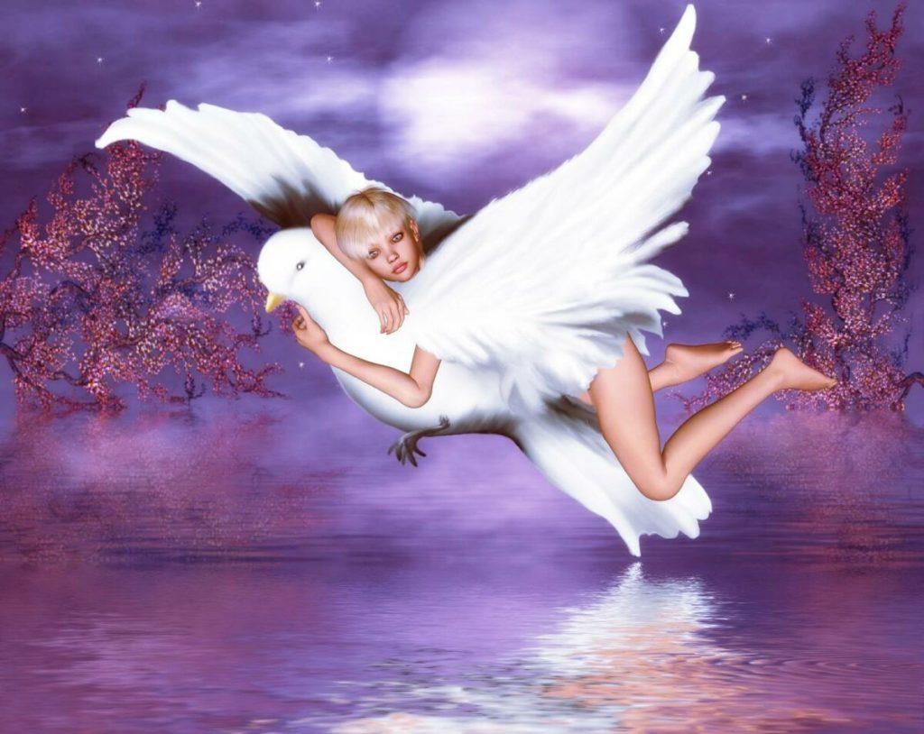 летать во сне с крыльями
